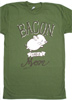 �Bacon Had a Mom� T-Shirt by Herbivore Clothing
