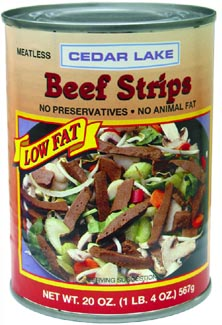 Cedar Lake Beef Strips