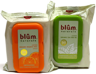 Daily Cleansing Towelettes by Blum Naturals