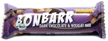 Bonbarr Organic Dark Chocolate Nougat Bar