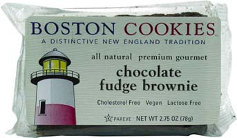 Vegan Brownies by Boston Cookies