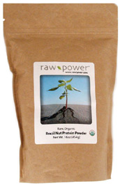 Organic Raw Brazil Nut Protein Powder by Raw Power