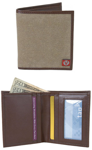 Brighton Bi-Fold Wallet by The Vegan Collection