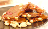 Organic Vegan Peanut Brittle by Allisons Gourmet