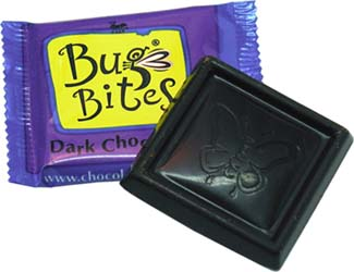 Bug Bites Organic Dark Chocolates