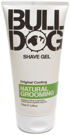 Cooling Shave Gel for Men by Bulldog