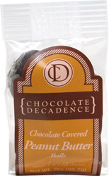 Chocolate Covered Peanut Butter Balls by Chocolate Decadence