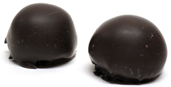 Vegan Amaretto Truffles by Chocolate Decadence