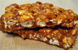 Vegan Gourmet Caramel Corn Brittle by Chocolate Inspirations