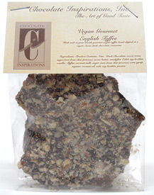 Vegan English Toffee by Chocolate Inspirations