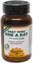 Daily Total One Multi-Vitamin Complex by Country Life