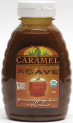 Organic Caramel Agave Nectar by The Real Food Trading Co.
