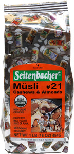 Organic Musli Cereal by Seitenbacher