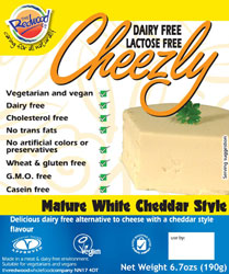 Cheezly Vegan Cheese Alternative **NEW FLAVORS!**