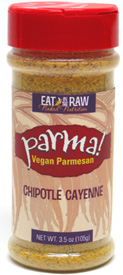 Chipotle Cayenne Parma! Vegan Parmesan by Eat in the Raw
