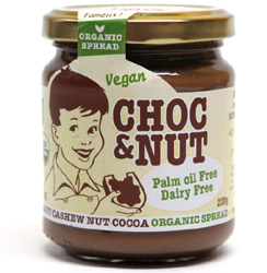 Choc & Nut Organic Hazelnut & Cashew Chocolate Spread
