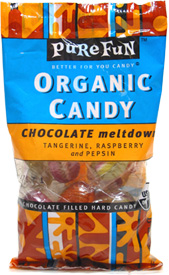 Organic Chocolate Meltdown Candies by Pure Fun