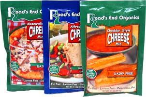 Dairy-free ChReese Packets and Bulk Bags