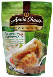 Organic Shiitake &amp; Vegetable Potstickers by Annie Chun's