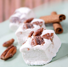 Cinnamon Pecan Marshmallows by Sweet & Sara