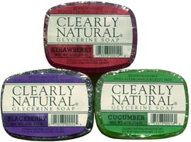 Clearly Natural Glycerine Soaps