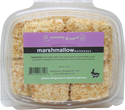 Toasted Coconut Vegan Marshmallows by Sweet & Sara