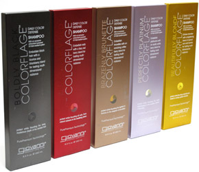 Colorflage Daily Color Defense Shampoos and Conditioners by Giovanni