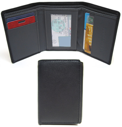 Compact Triple Fold Wallet by VeganWares