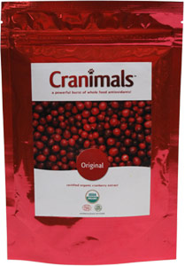 Cranimals Whole-Food Antioxidant Urinary Tract Support Supplement