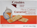 Mrs. Crimbles Caramel Flavor Rice Cakes