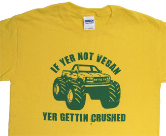 �Yer Gettin� Crushed� T-Shirt by Motive Company