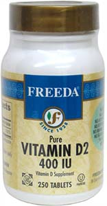 Vitamin D2 tablets by Freeda