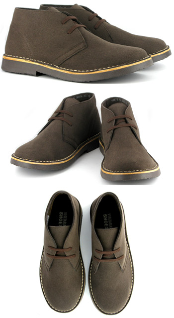 Desert Boot by Vegetarian Shoes – Brown