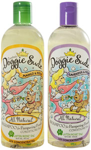 Doggie Sudz Organic Shampoo & Conditioner
