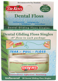 Dr. Ken�s Vegan Dental Floss Singles