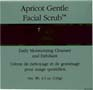 Apricot Gentle Facial Scrub by Earth Science