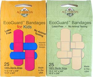 "Eco-Guard Vegan ""Band-Aids"""