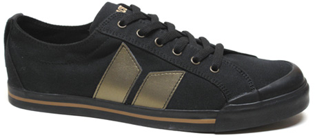 Eliot Sneaker by MacBeth Footwear � Black/Gold