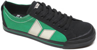 Eliot Sneaker by MacBeth Footwear  Black/Kelly Green