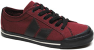 Women's Eliot Sneaker by MacBeth Footwear  Wine / Black