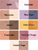 Duo Color Natural Mineral Eyeshadow by Emani
