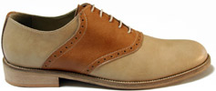 The Expert Men's Oxford Saddle Shoe by The Discerning Brute