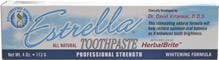 Estrella All-Natural Whitening Toothpaste