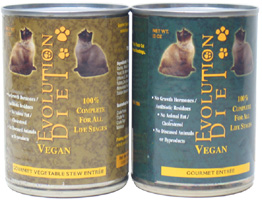 Evolution Diet Canned Vegan Cat Food