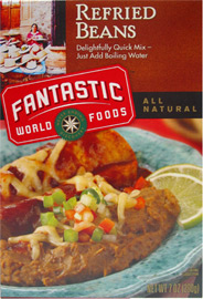 Instant Refried Beans by Fantastic Foods