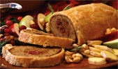 Vegan Hazelnut Cranberry Roast En Croute by Field Roast