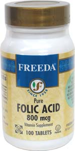 Folic Acid by Freeda