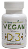 Vegan Vitamin D3 Capsules by The Food Movement