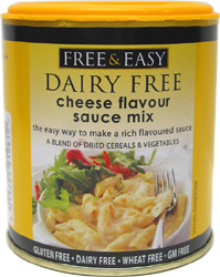Free & Easy Dairy-Free Cheese Flavor Sauce Mix
