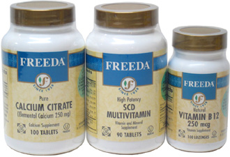 Freeda Vegan Vitamin Starter Kit
